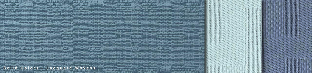 Solid Colors - Jacquard Wovens